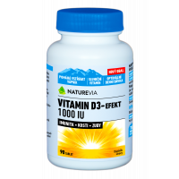 SWISS NATUREVIA Vitamin D3-Effect 1000 IU 90 tbl