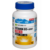 SWISS NATUREVIA Vitamin D3-Effect 2000 IU 90 tbl