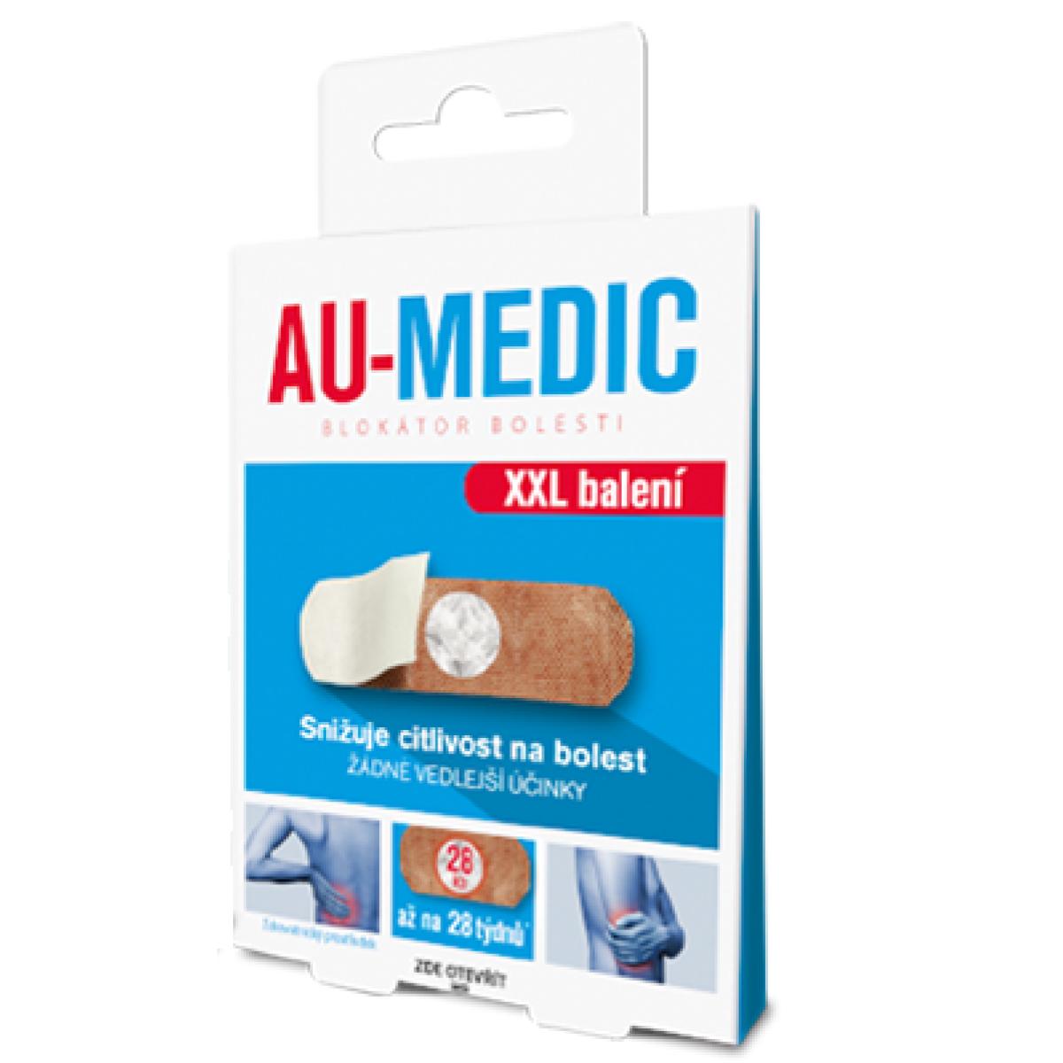 AU-MEDIC Blokátor bolesti, 28 tapů