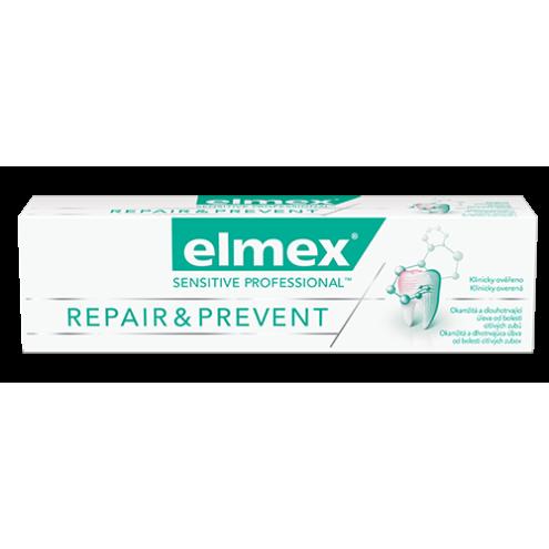ELMEX Sensitive Professional Repair & Prevent Zubní pasta pro citlivé zuby, 75 ml.
