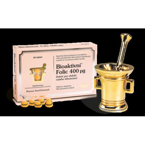 Bioaktivní Folic 400 mcg 60 tbl