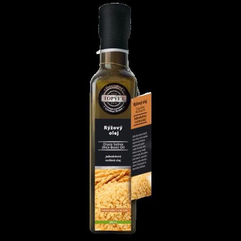 TOPVET Potravinový olej- RYZOVY 250ML