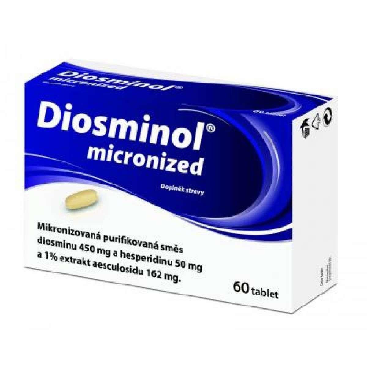 DIOSMINOL Micronized 60 tbl.