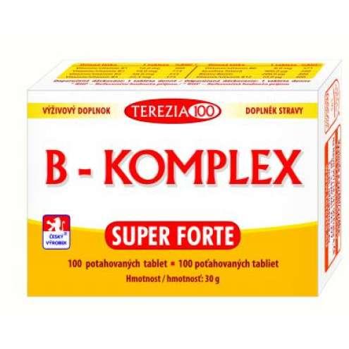TEREZIA B-Komplex Super Forte 100 tbl